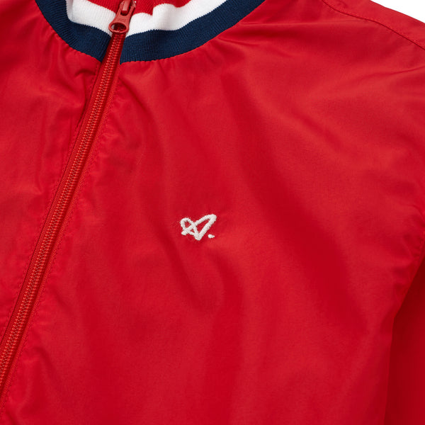 Red Court Nylon Jacket