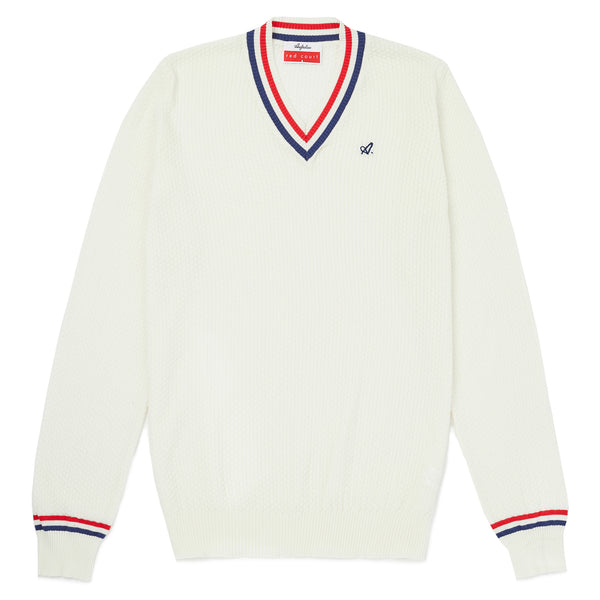 Red Court Classic Sports Knitwear