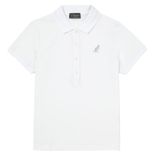 Womens Pique Polo Shirt