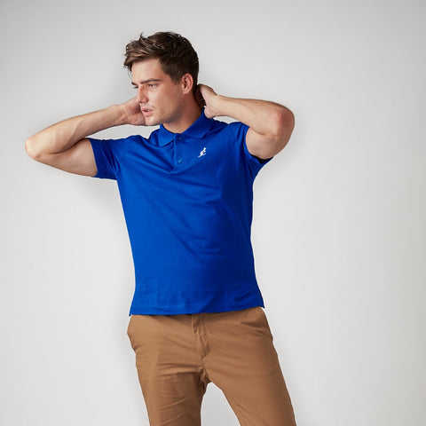 Classic Polo With Sleeve Logo
