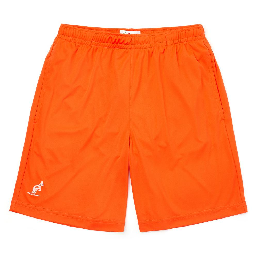 Technical Sports Short - Orange/Capri Blue