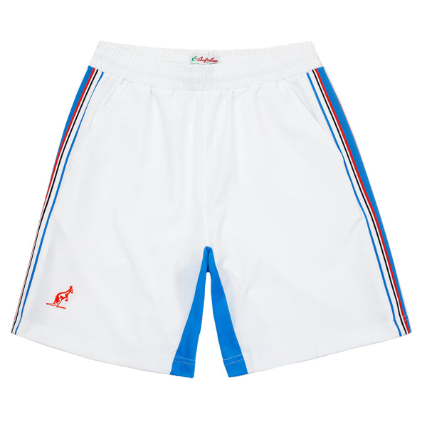 Technical Sports Short With Contrast Inside Leg Panel