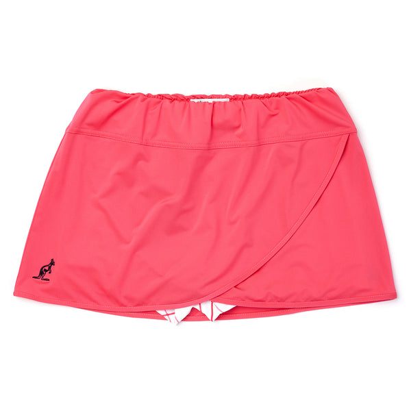 Womens Tennis Skort With Integrated Patterned Shorts