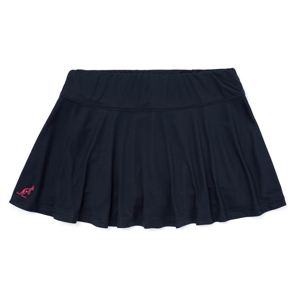 Womens Tennis Skirt With Integrated Shorts With Ball Pocket