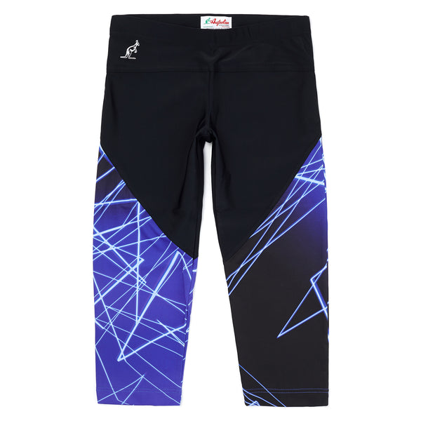 Womens Graphic Training Below The Knee Legging