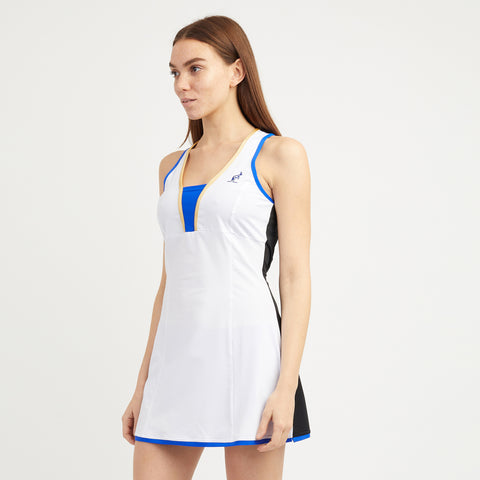 Tennis Dress with Contrast Back