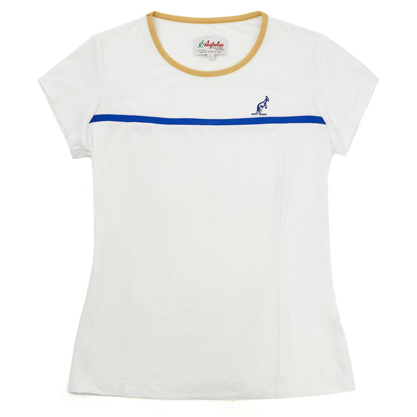 Womens Cap Sleeve Sports Top