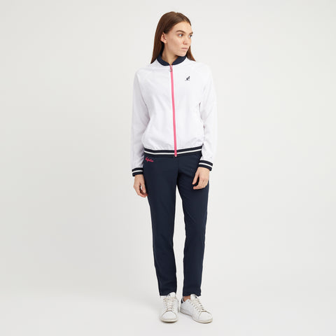 Tracksuit with Baseball Collar