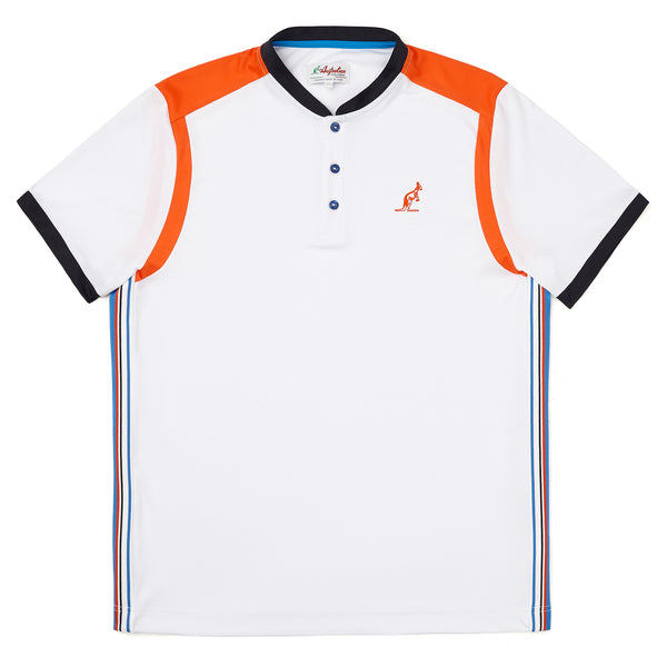 Technical Sport Polo With Micro Collar