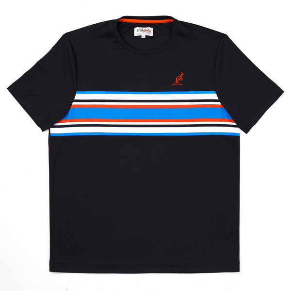 Technical T Shirt With Stripes