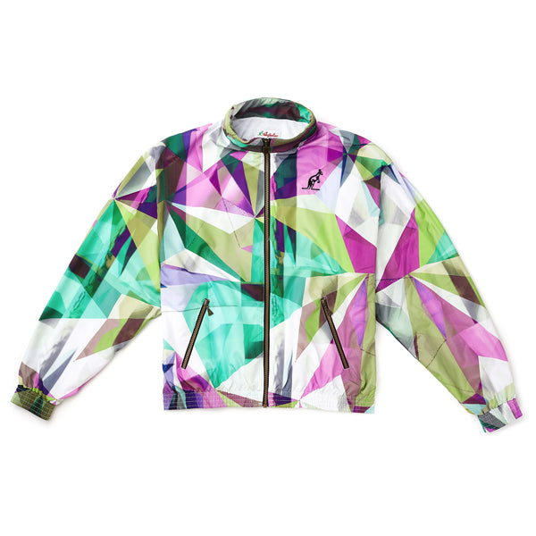 Heritage All Over Graphic Track Jacket