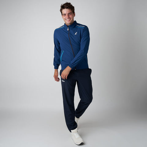 MEN'S TRACKSUIT WITH SHOULDER STRIPES