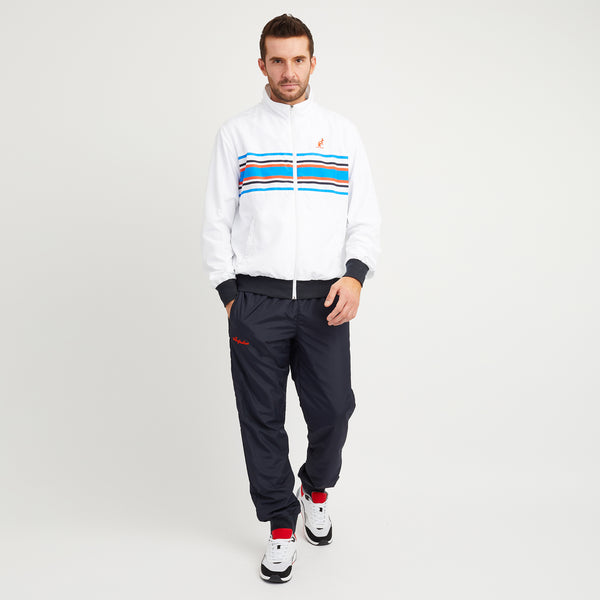Tracksuit With Stripe Chest Panel