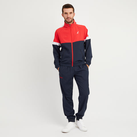 Tracksuit With Contrast Top Panel