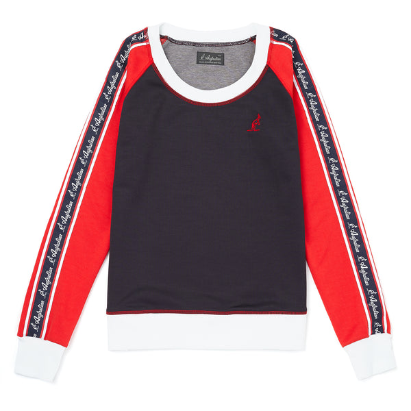 Womens Taped Crew Neck Sweat