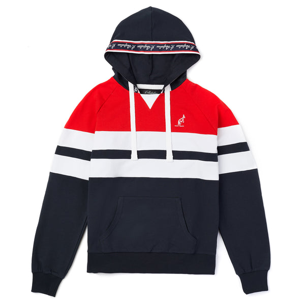Hooded Sweatshirt with Heritage Taping