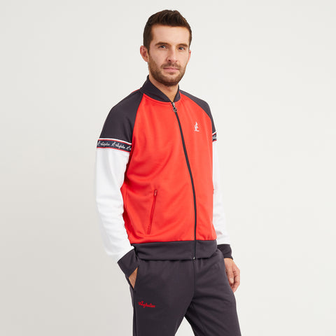 Track Jacket with Heritage Taping