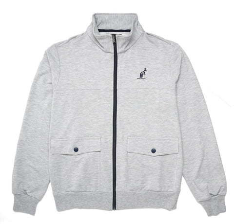 Men's Grey Cotton Fleece | Australian L'Alpina