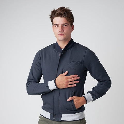 Men's Cotton Jacket With Collar