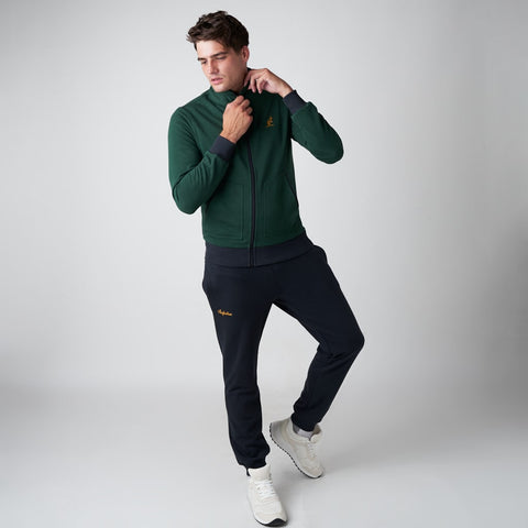 MEN'S BRUSHED COTTON LINED TRACKSUIT