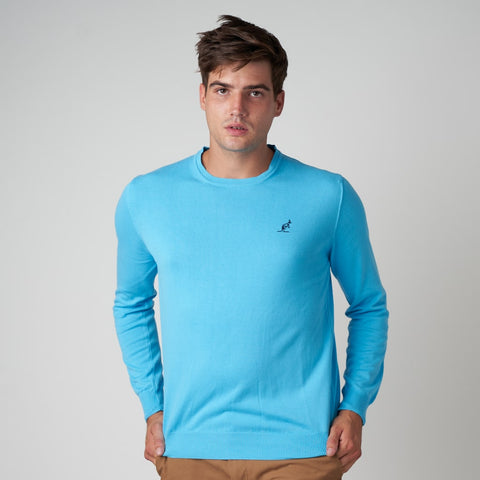 Men's Cotton Long Sleeve Knit