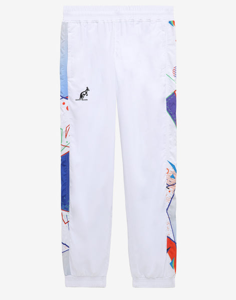 HARD COURT SIDE PRINT TRACK PANTS