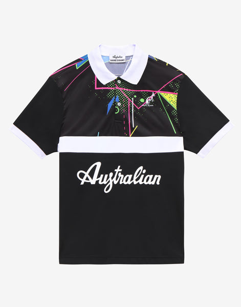 Hard Court All Over Print Polo Shirt