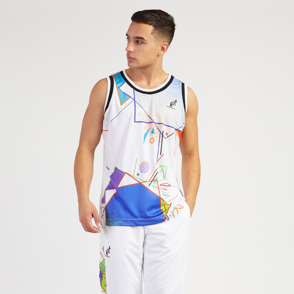 HARD COURT PRINTED VEST