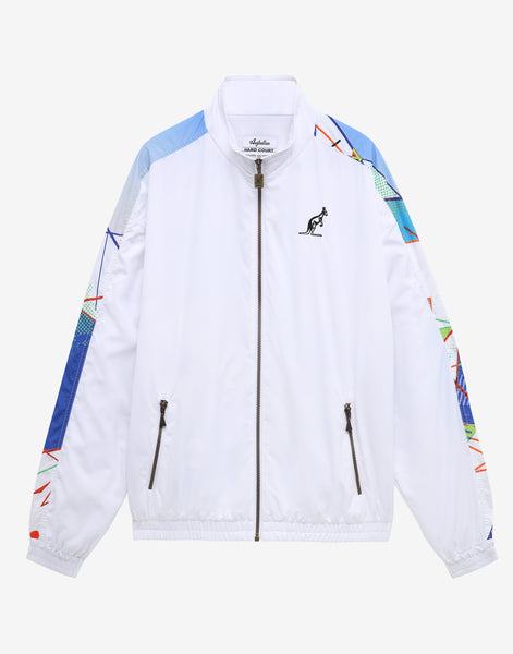 HARD COURT BACK PRINT LIGHTWEIGHT JACKET