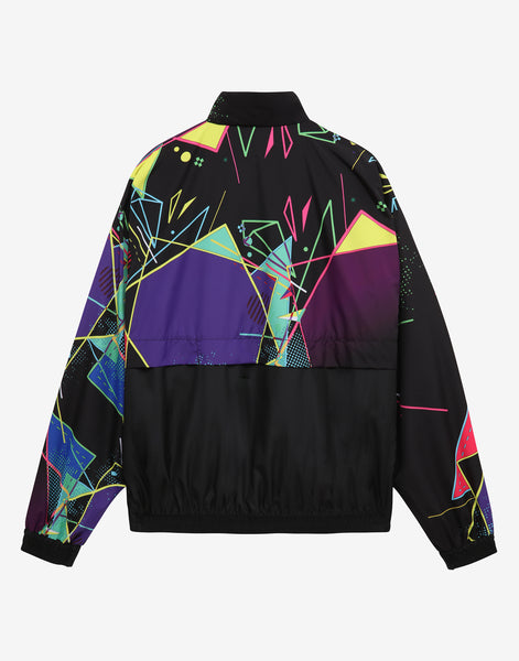 HARD COURT ALL OVER GRAPHIC PRINT LIGHTWEIGHT JACKET