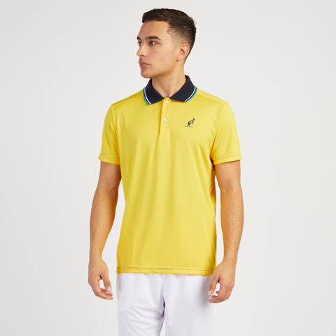 TWIN TIPPED TECHNICAL SPORTS POLO