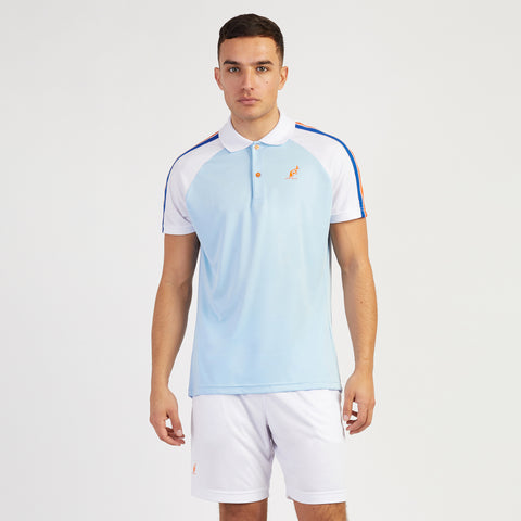 RAGLAN TAPED SLEEVE TECHNICAL SPORTS POLO