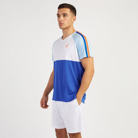 RAGLAN TAPED SLEEVE TECHHNICAL SPORTS T-SHIRTS