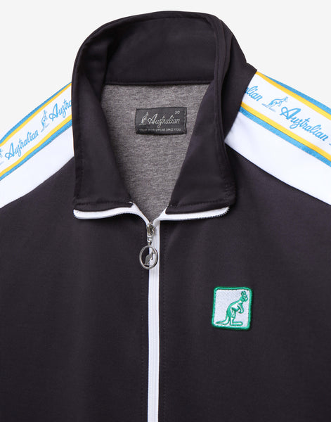 TRACK TOP WITH HERITAGE TAPING