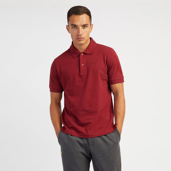 Red Court Slim Fit Polo Shirt