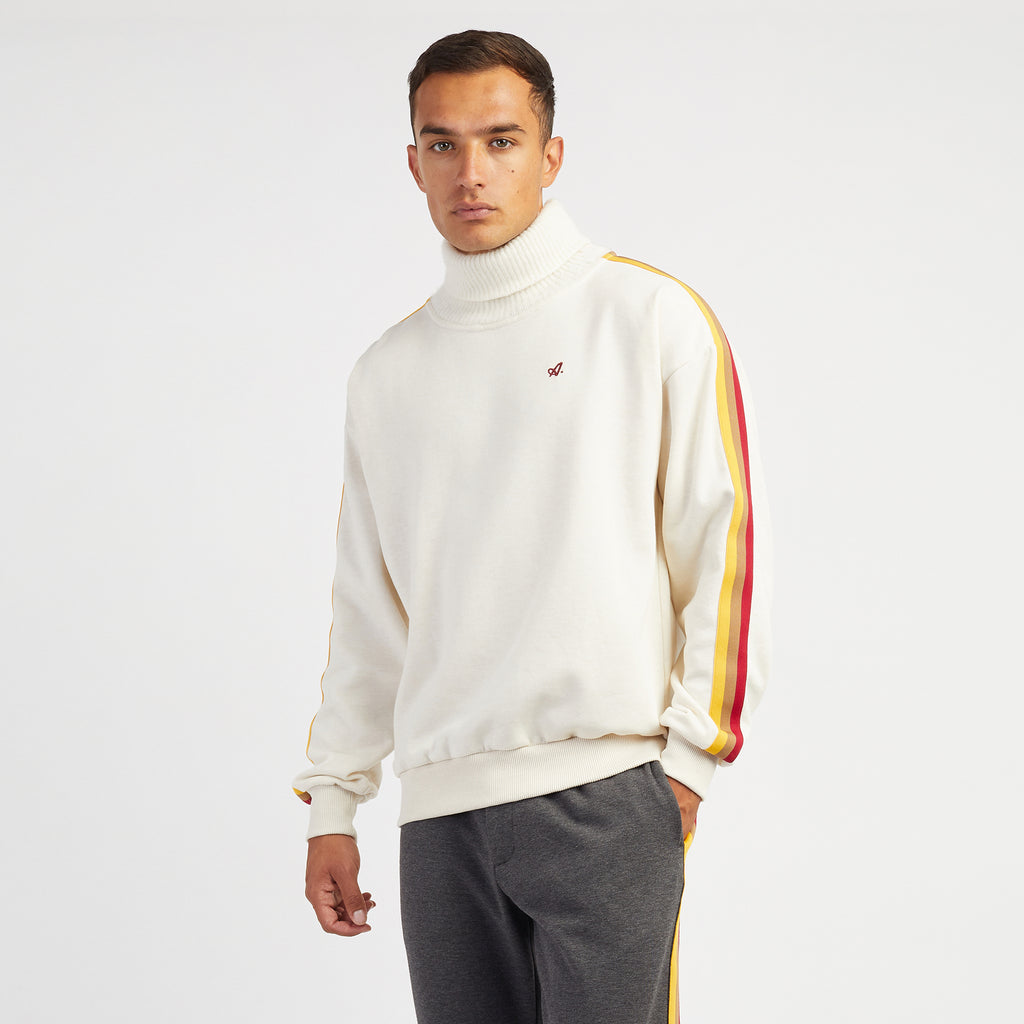 Red Court Turtleneck Sweatshirt
