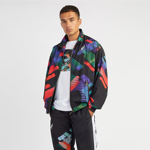 Hard Court All Over Graphic Print Jacket
