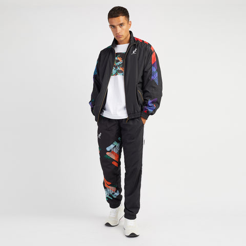 Hard Court Jacket With Abstract Print