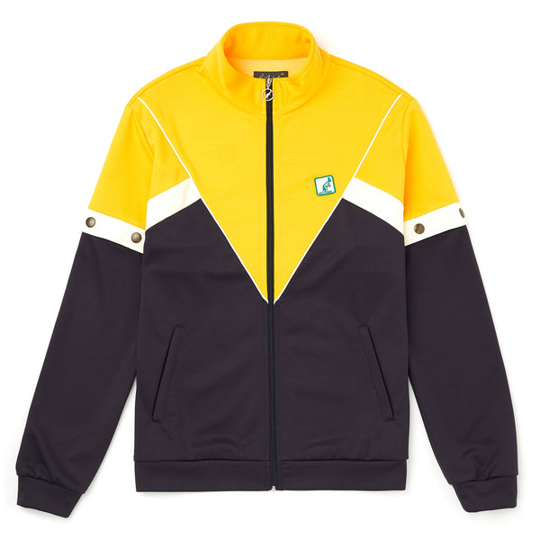 Men's Heritage Zip Up Sports Jacket with Pop Off Removable Sleeves