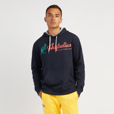 Men's Hooded Sweatshirt With Australian Logo