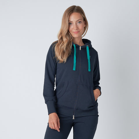 WOMEN'S FLEECE LINED HOODIE