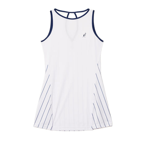White Mesh Tennis Dress