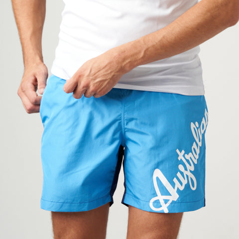 Men's Swim Short With Australian Logo