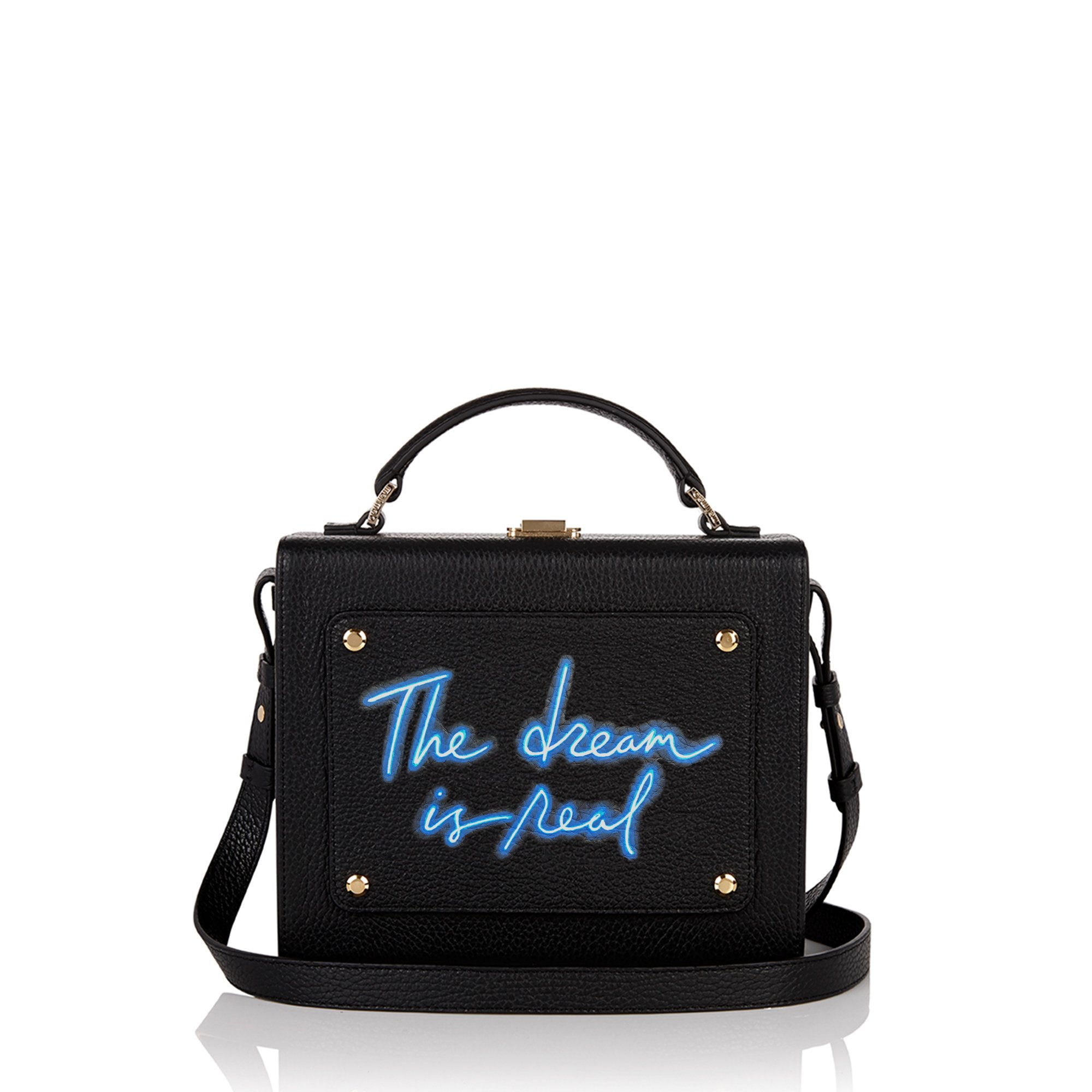 "Art Bag 艺术包 黑色 ""The dream is real""- Olivia Steele"
