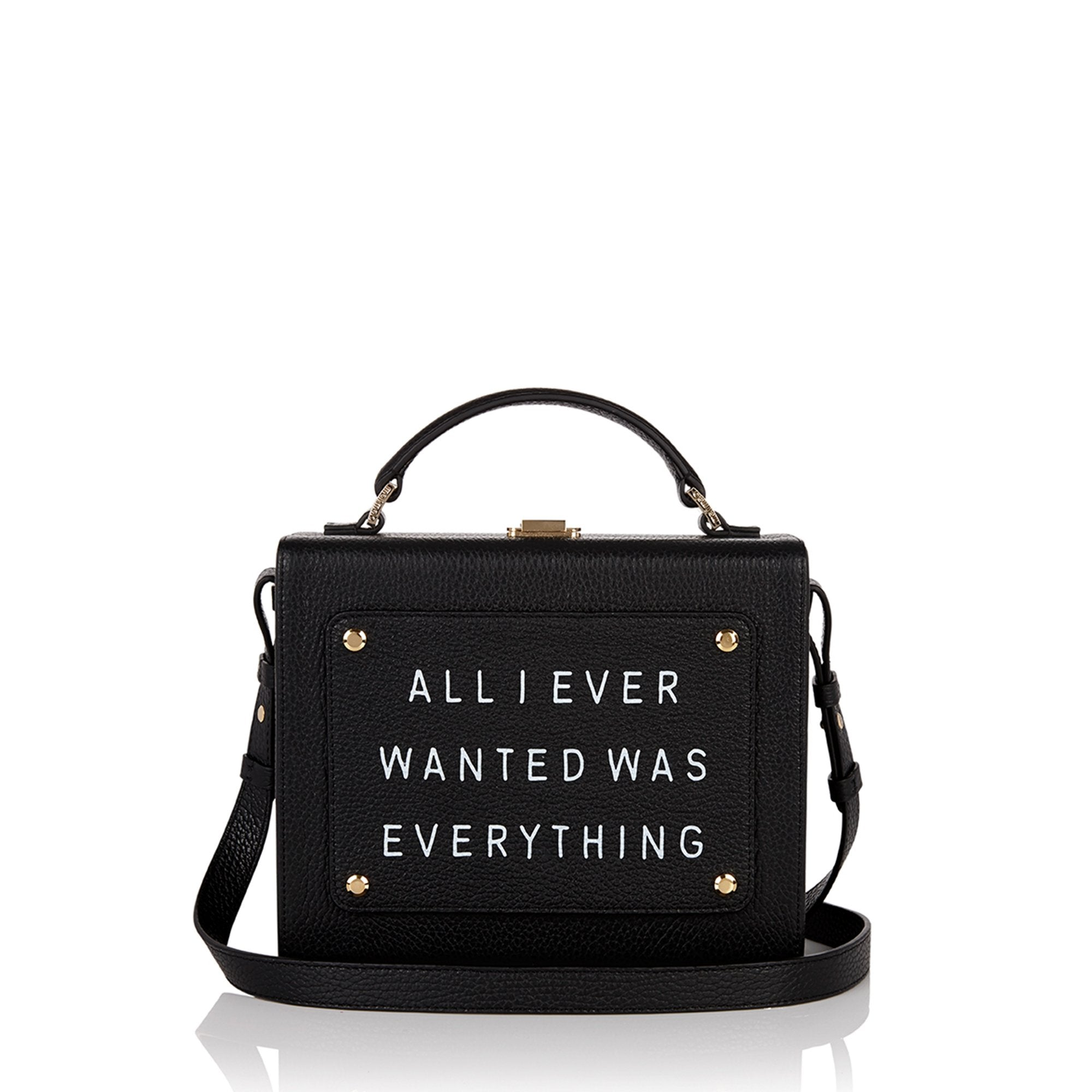 "Art Bag 艺术包 黑色 ""All I ever wanted is everything""- Olivia Steele"