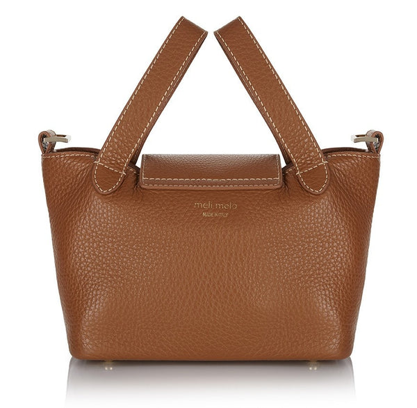 Thela Mini Tan Contrast Stitch   from meli melo