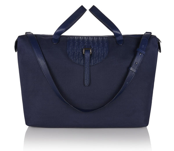 Thela Weekender Medium Midnight Blue Nylon