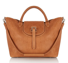 Halo Tote Bag Light Tan - from meli melo