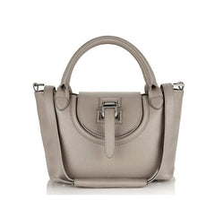Halo Mini Handbag Taupe - from meli melo