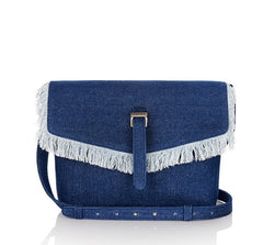 Maisie Medium Bag Blue Denim